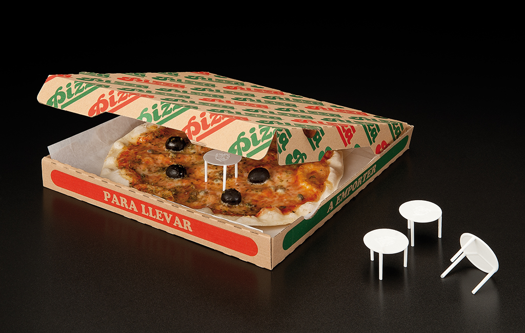 Small tables pizza protection