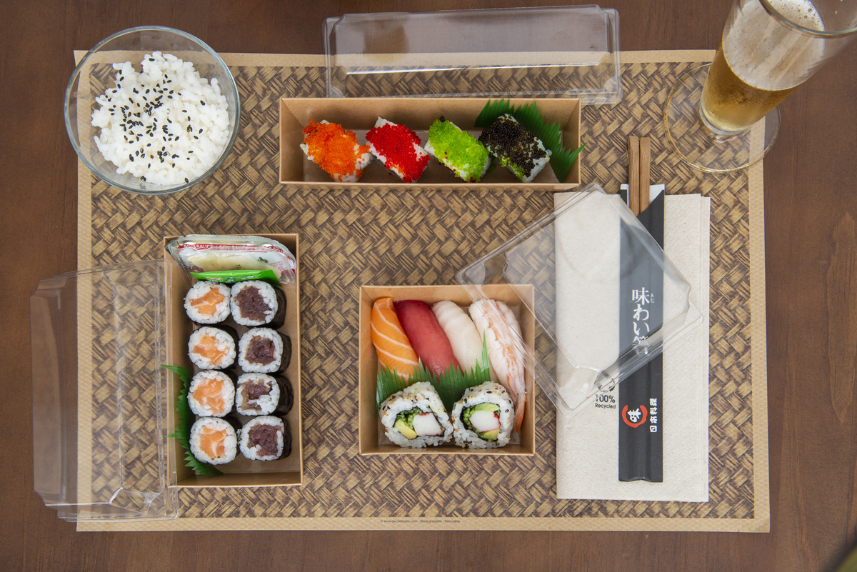 Sushi Take Away | García de Pou