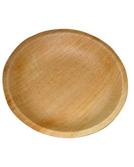 piatti rotondo 'areca' Ø 12,5x2 cm naturale areca (200 unitÀ)