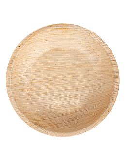 assiettes rondes 'areca' Ø 12,5x2 cm naturel areca (200 unitÉ)