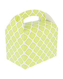 """boÎtes """"vert"""" 320 g/m2 17x16x10 cm verde lima carton (300 unitÉ)"""
