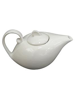 thÉiÈres 21,5x12x12,5 cm blanc porcelaine (2 unitÉ)