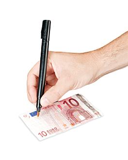 counterfeit detector felt-pen 13 cm black plastic (1 unit)