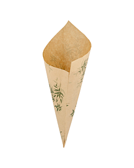sachets en pointe 'feel green' 250 g 70 g/m2 29,5x21 cm naturel parch.ingraissable (2000 unitÉ)