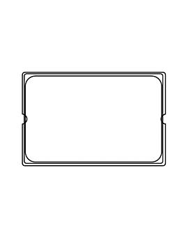 tapa 1/1 para cÓdigo 202.01/02/03 113.41 53x32,5 cm transparente policarbonato (1 unid.)