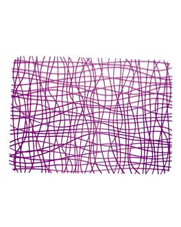tischdecke 45,5x32,5 cm schinkenrot ps (40 einheit)