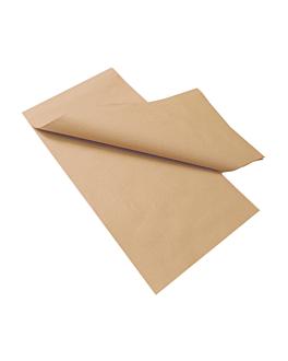 tischdecken gefaltet m 48 g/m2 100x100 cm natur recycelt papier (200 einheit)