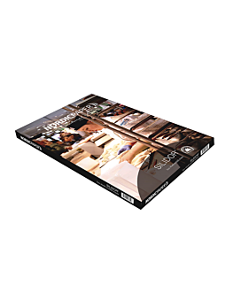 carta per forno doppia faccia 50 g/m² 40x60 cm bianco silicone paper (500 unitÀ)