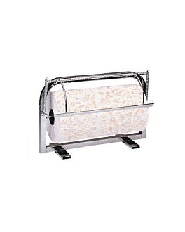 dispenser da parete e da tavola 35 cm argento acciaio inox (1 unitÀ)