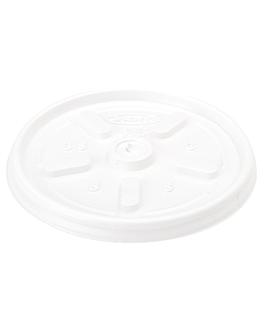 couvercles pour gobelets 120 ml Ø 7 cm translucide pse (1000 unitÉ)