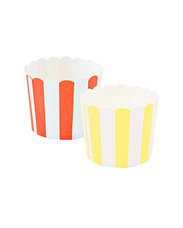 muffin cups Ø 5,3x4,2 cm assorted cardboard (2400 unit)