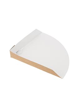papp-eck krepps 300 g/m2 17x17x2 cm braun karton (800 einheit)