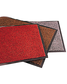 """atlantic "" carpet 120x180 cm carmesÍ vinyl (1 unit)"