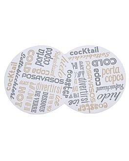 posagots 'parole' 210 g/m2 Ø 9 cm blanc cartronet (6000 unitat)