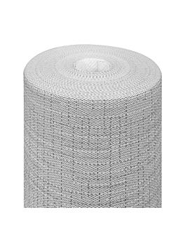 """""""tÊte À tÊte"""" pre. 120cm (20 ser.) 'dry cotton' 55 gsm 0,40x24 m graphite airlaid (6 unit)"""