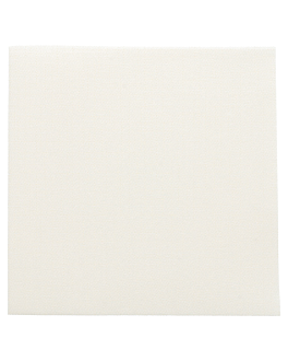 serviettes 'dry cotton' 55 g/m2 40x40 cm ivoire airlaid (700 unitÉ)