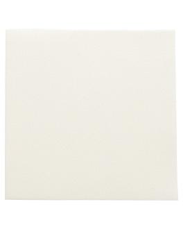 servilletas 'dry cotton' 55 g/m2 40x40 cm marfil airlaid (700 unid.)