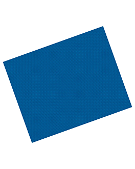 manteles 48 g/m2 60x60 cm azul marino celulosa (500 unid.)
