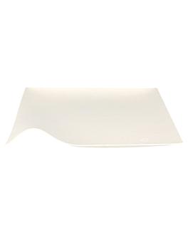 platos kaku m 'bionic' 15x2,6 cm blanco bagazo (200 unid.)