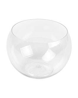 "injected mini bowls ""sphere"" 150 ml 6,3x5 cm clear apet (100 unit)"