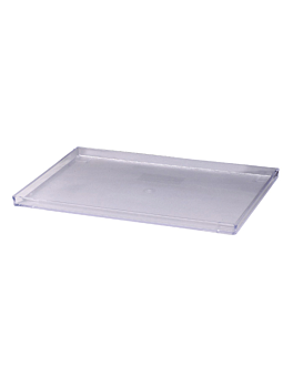 tray for amenities 32x21,2x1,9 cm clear abs (1 unit)