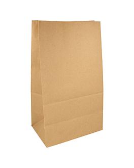 sacchetti sos senza manici 80 g/m2 22+14x37 cm naturale kraft (500 unitÀ)