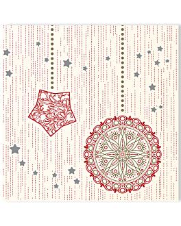 """serviettes """"like linen"""" 'polaris' 70 g/m2 40x40 cm spunlace (600 unitÉ)"""