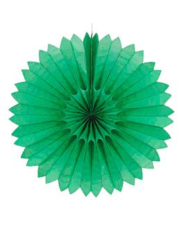 decoraciÓn christmas Ø 46 cm verde (1 unid.)