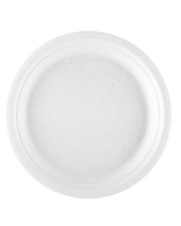 platos 'bionic' Ø 26x2,1 cm blanco bagazo (500 unid.)