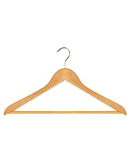 standard hangers 44,5x1,2x23 cm natural wood (48 unit)