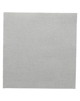 serviettes ecolabel 'double point' 18 g/m2 39x39 cm gris ouate (1200 unitÉ)