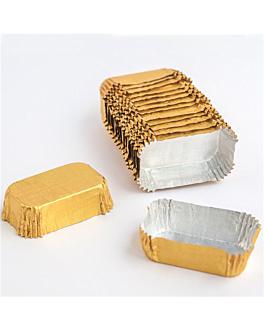 pirottini 'petits fours' 4,7x3,7x1,5 cm oro alluminio (1000 unitÀ)
