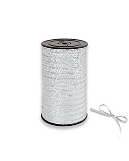 """cinta """"glittex"""" 5 mmx50 m plateado pp (1 unid.)"""