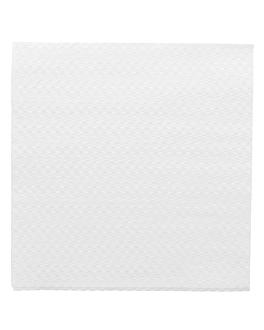 servilletas ecolabel 1 capa 20 g/m2 33x33 cm blanco tissue (3000 unid.)