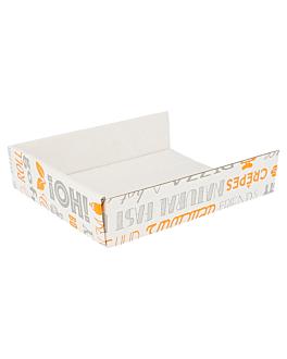 palas diversos usos 'parole' 15x12x3,5 cm blanco cartÓn (800 unid.)
