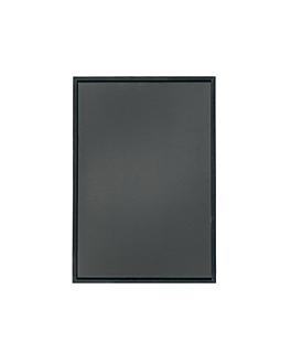 pizarra mural 30x45 cm negro madera (1 unid.)