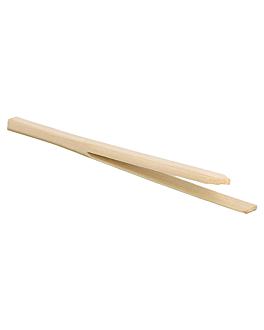 "picks ""pinza"" 9 (h) cm natural bambÚ (100 unid.)"