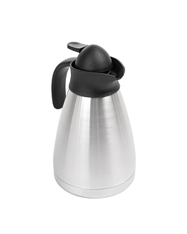 """""""metallic luster"""" thermo 1 l 13x20,5 cm silver stainless steel (1 unit)"""