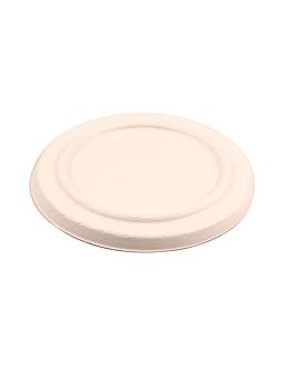 lids for item 228.87 'bionic' Ø 12x1,2 cm natural bagasse (500 unit)