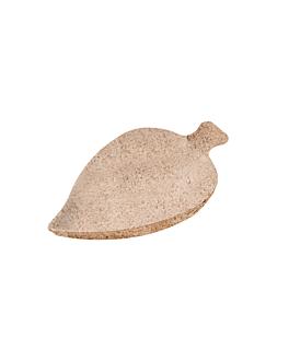 container-leaf 'bionic' 9x6x1,2 cm natural bagasse (1000 unit)