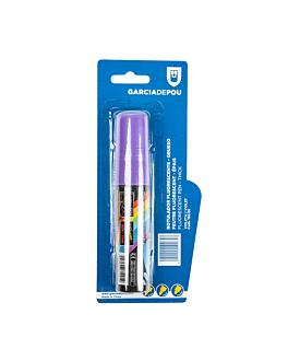 feutre fluorescent Épais  violet feutre (1 unitÉ)