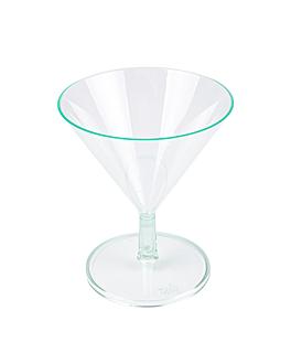 coppe iniettate 'mini martini' 65 ml Ø 7x8,1 cm verde acqua ps (144 unitÀ)