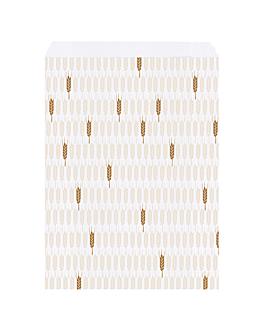 sacchetti panetteria 'ceres' 33 g/m2 26+8x35 cm bianco cellulosa (250 unitÀ)
