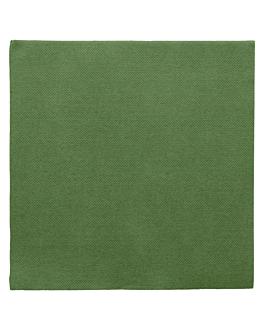 tovaglioli ecolabel 'double point' 18 g/m2 39x39 cm verde prato tissue (1200 unitÀ)