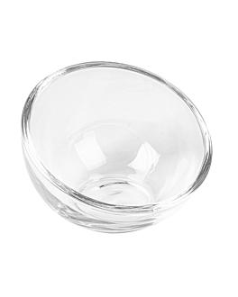 mini sferico truncato 1,5 oz Ø7,8x5,7 cm trasparente cristal (72 unitÀ)
