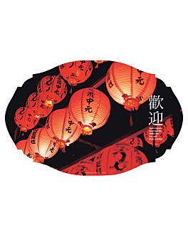 """mantelines """"offset"""" troquelado """"china"""" 70 g/m2 27,5x41,5 cm cuatricromÍa litos (2000 unid.)"""