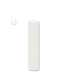 mantel 'elegance' 55 g/m2 1,2x25 m blanco airlaid (1 unid.)