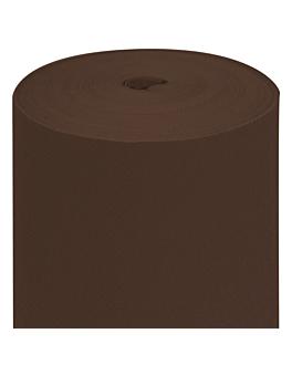 nappe en rouleau 55 g/m2 1,20x50 m chocolat airlaid (1 unitÉ)