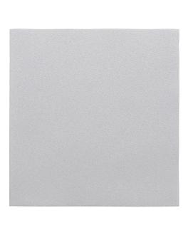 serviettes 55 g/m2 40x40 cm gris dry tissue (700 unitÉ)