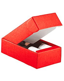 30 e. verpackungen 2 flaschen 34x18,5x9 cm rot karton (30 einheit)